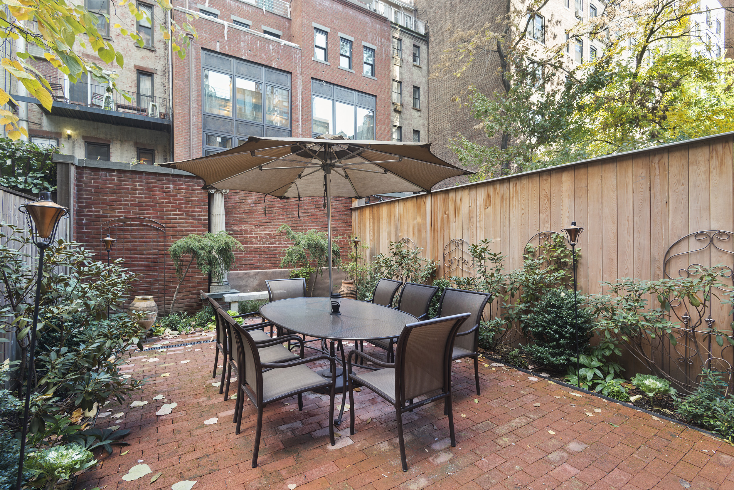 131 West 69th Street: Luxury Upper West Side townhouse private garden