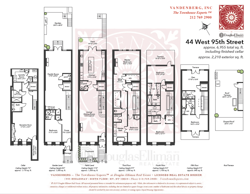 West 95th Street-Floor Plan-Townhouse
