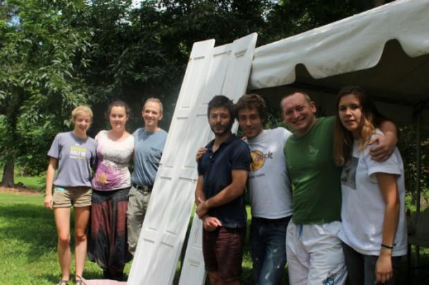 Preservation Volunteers group photo