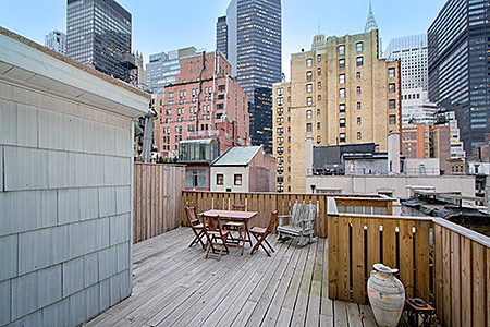 132 East 38th Street Roof Deck