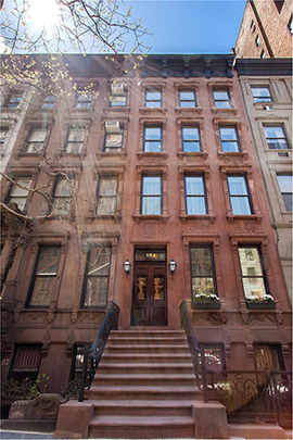 154 West 73rd Street townhouse new york